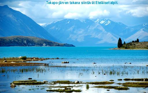 www timojaleena com  Uusi Seelanti 3 Eteläsaaren halki